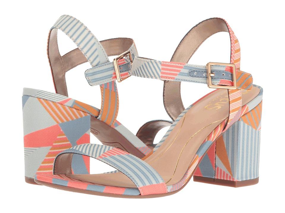 Circus by Sam Edelman - Ashton (Peach Multi Crazy Stripes Print) Women's Shoes