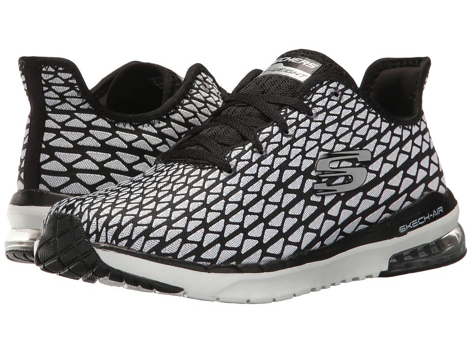 SKECHERS - Skech-Air Infinity-Transform (White/Black) Women's Shoes