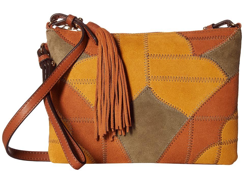 Sam Edelman - Kelly Crossbody (Cognac Multi) Cross Body Handbags