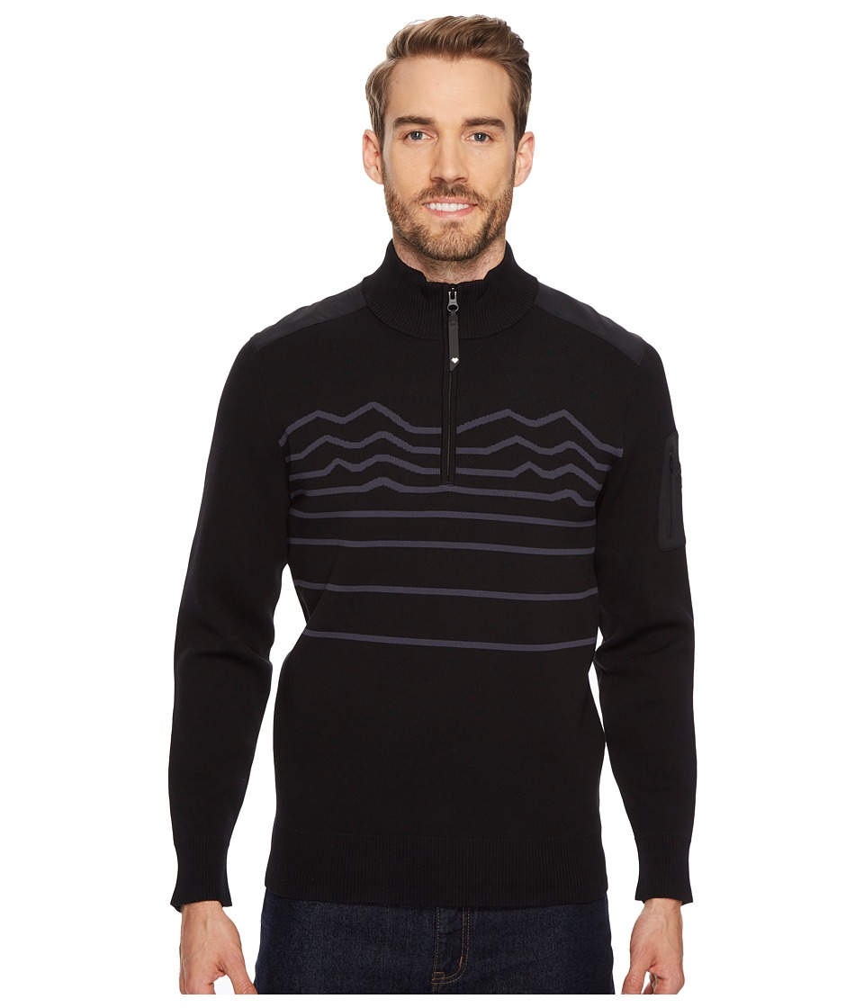 Obermeyer Tera Sweater (Black) Men