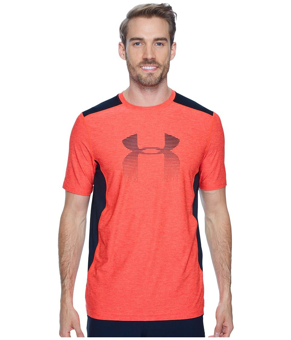 Under Armour - UA Raid Graphic Short Sleeve (Marathon Red/Anthracite) Men's Clothing