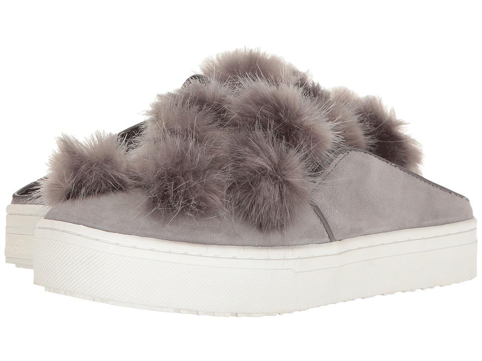 Sam Edelman - Lyndon (Grey Kid Suede Leather) Women's 1-2 inch heel Shoes