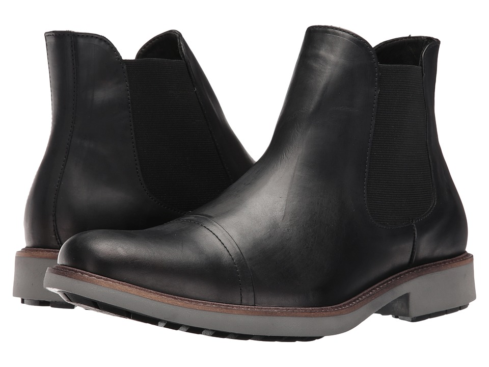 Donald J Pliner - Randy (Black) Men's Shoes