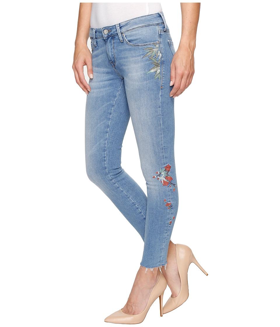 Mavi Jeans - Adriana Ankle Mid-Rise Skinny in Light Embroidery Vintage (Light Embroidery Vintage) Women's Jeans