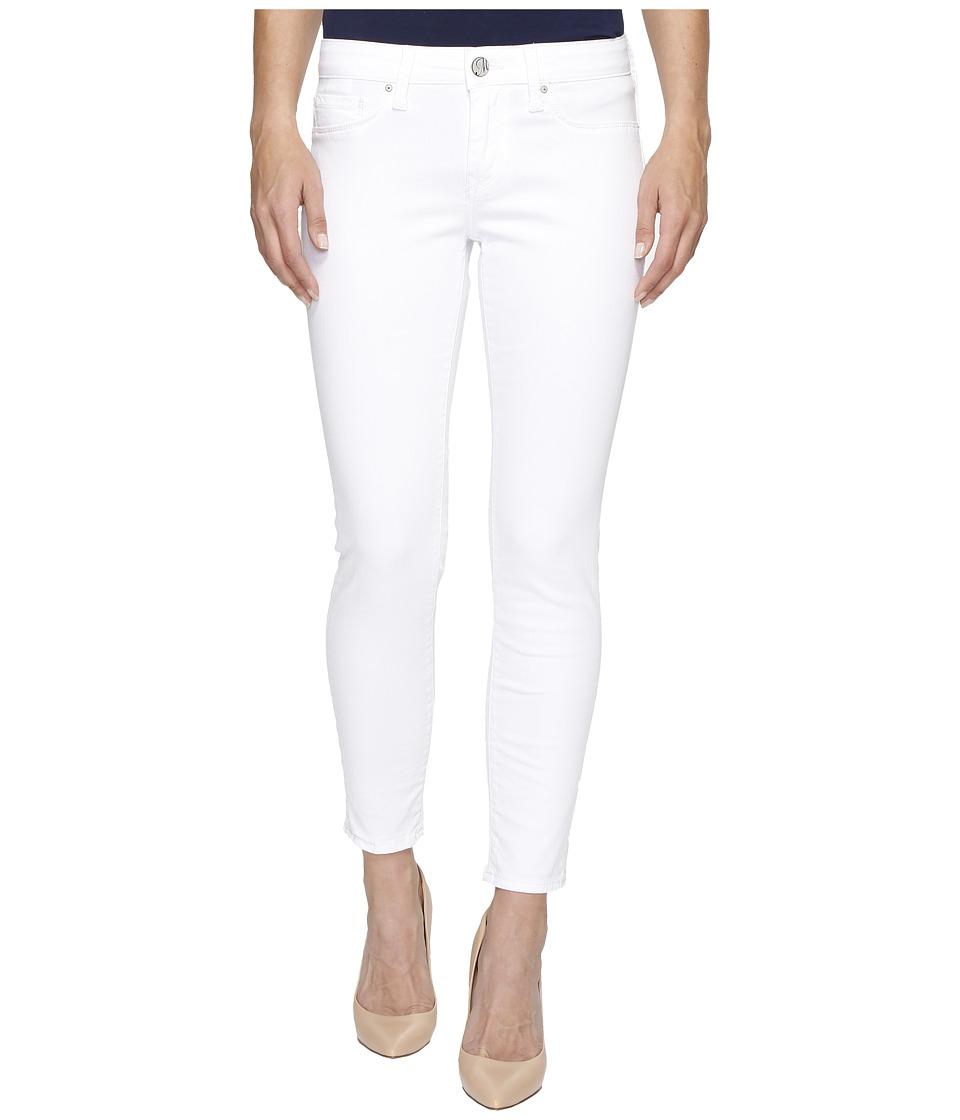 Mavi Jeans Alexa Ankle Mid-Rise Skinny in White Tribeca (White Tribeca) Women