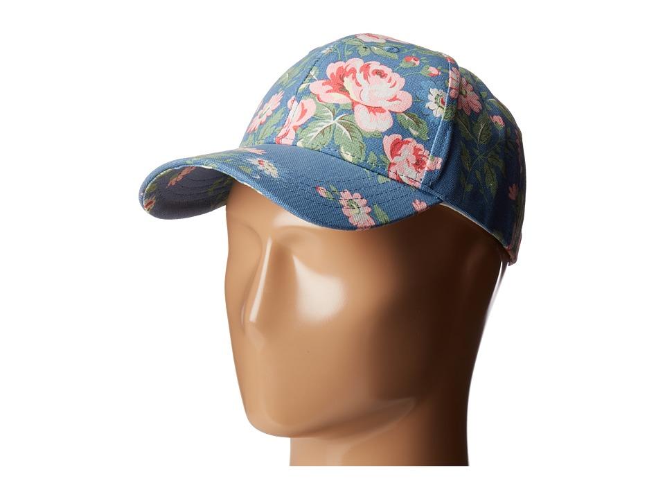 BCBGeneration - Floral Baseball (Vintage Blue) Baseball Caps