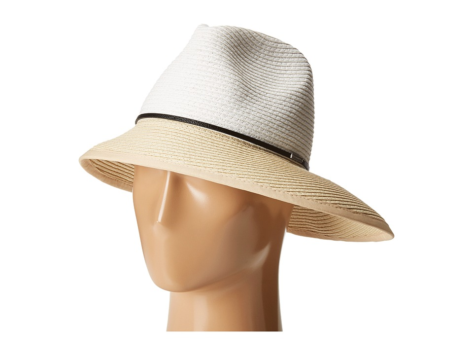 BCBGMAXAZRIA - Asymmetrical Cloche (Almond Blossom) Caps