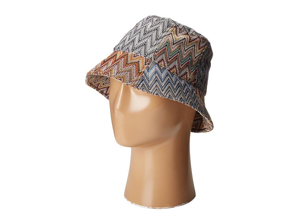 BCBGMAXAZRIA - Knitted Bucket (Multi) Bucket Caps