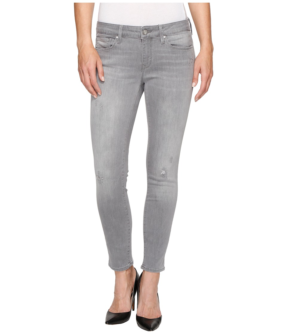 Mavi Jeans - Adriana Ankle Mid-Rise Skinny in Light Grey Tribeca (Light Grey Tribeca) Women's Jeans
