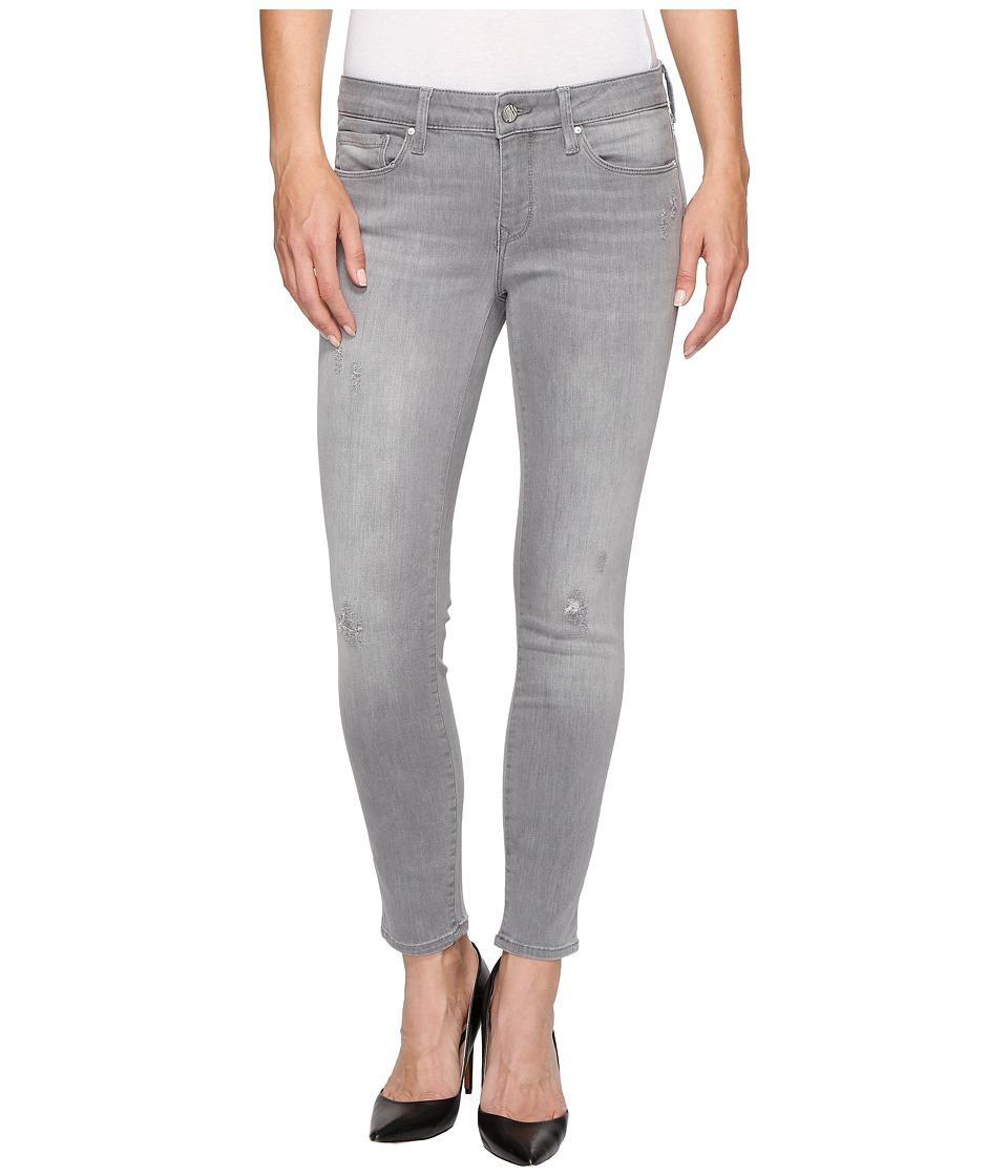 Mavi Jeans Adriana Ankle Mid-Rise Skinny in Light Grey Tribeca (Light Grey Tribeca) Women