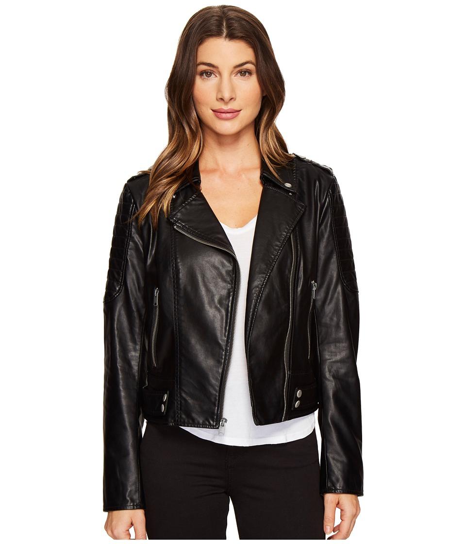 Marc New York by Andrew Marc - Leanne Lightweight Vegan Leather 20 Jacket (Black) Women's Coat