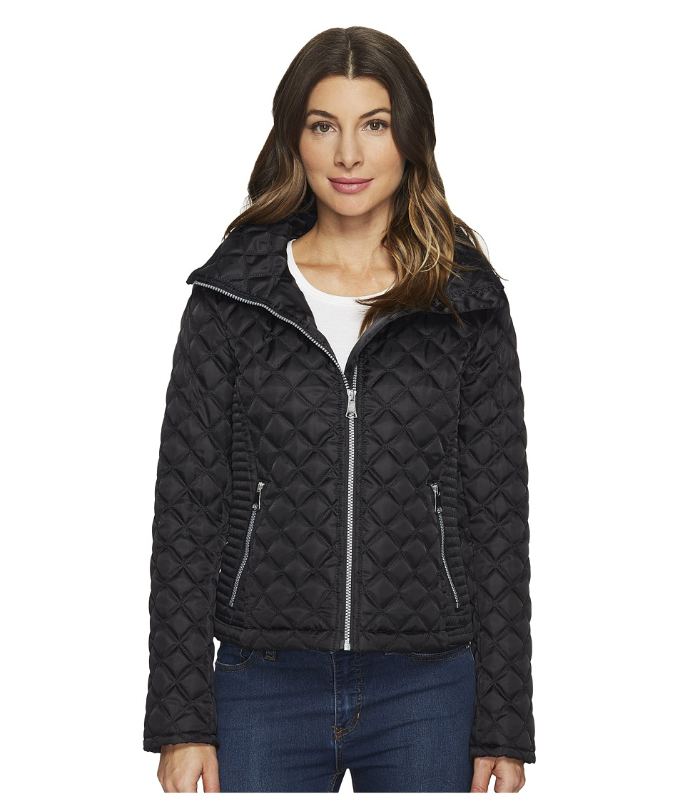 Marc New York by Andrew Marc - Charlie Chain Link Polyfill Quilt 25 Jacket (Fog) Women's Coat