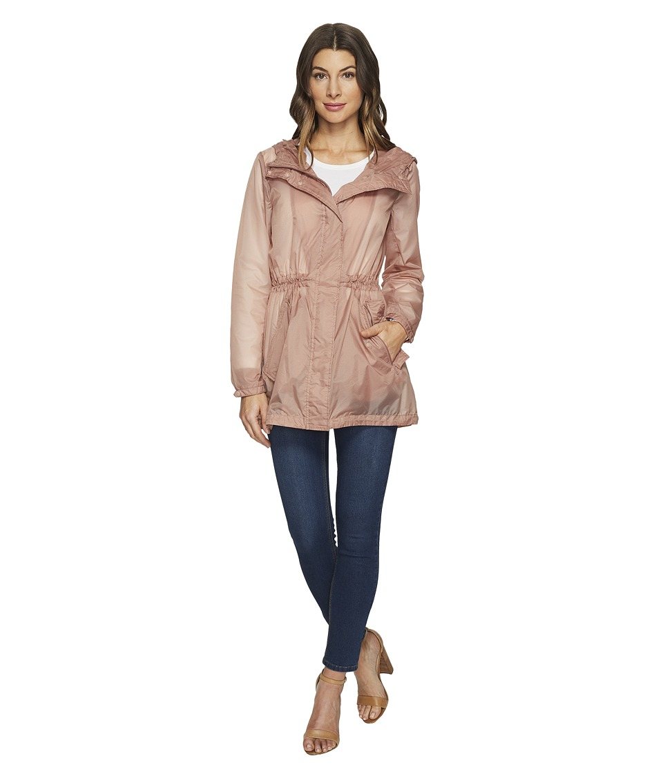 Marc New York by Andrew Marc - Teri Translucent Rain 32 Jacket (Blush) Women's Coat