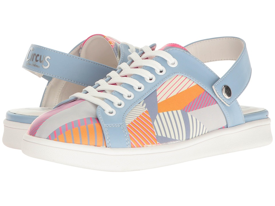 Circus by Sam Edelman - Murray (Peach Multi Crazy Stripes Print/Sheep Nappa) Women's Shoes