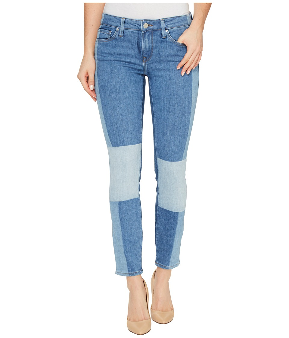Mavi Jeans - Adriana Ankle Mid-Rise Skinny in Indigo Blocking Icon (Indigo Blocking Icon) Women's Jeans
