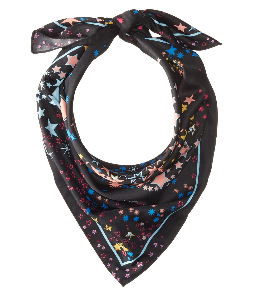 BCBGeneration - Starburst Square (Black Multi) Scarves