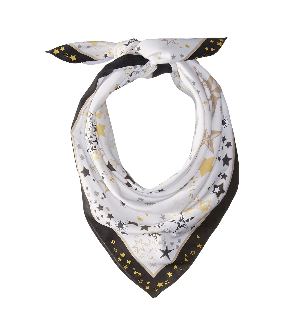 BCBGeneration - Starburst Square (White) Scarves