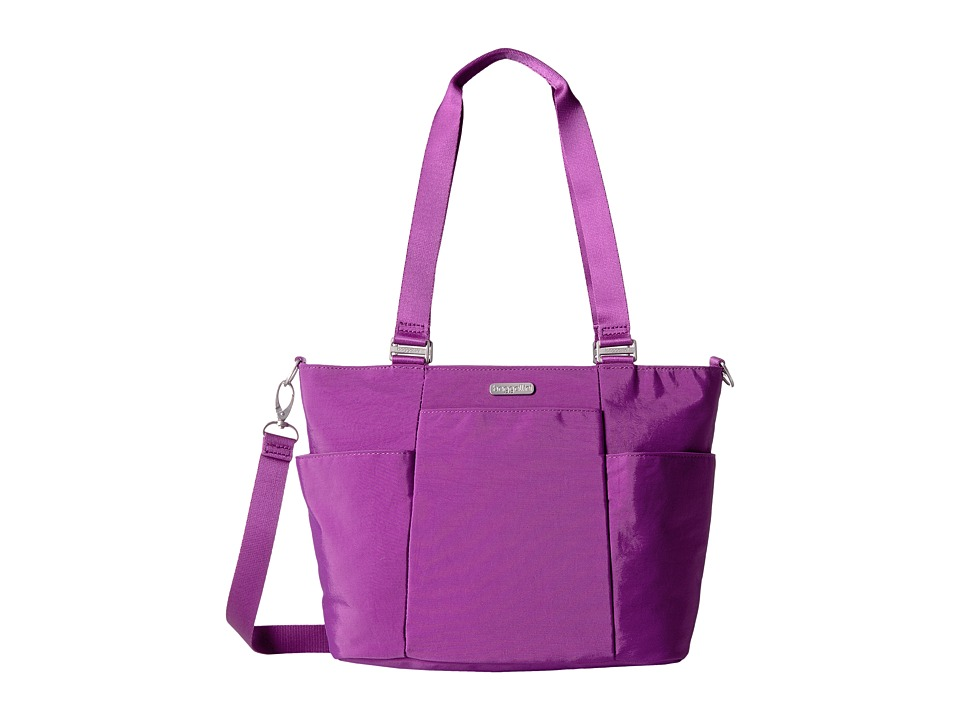 Baggallini - Medium Avenue Tote (Magenta) Tote Handbags