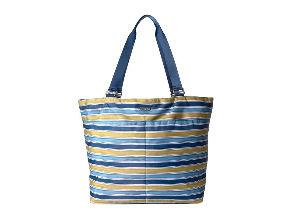 Baggallini Carryall Tote (Tropical Stripe Multi) Tote Handbags