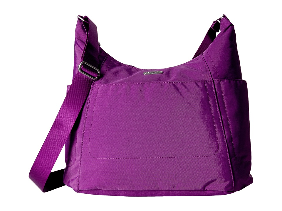 Baggallini Hobo Tote (Magenta) Cross Body Handbags