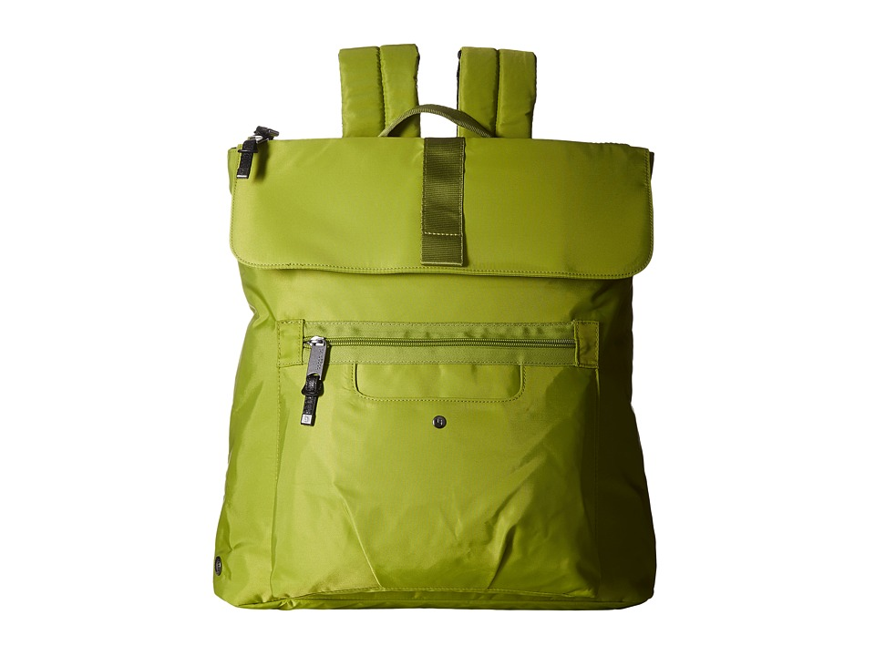 Baggallini - Skedaddle Laptop Backpack (Green) Backpack Bags