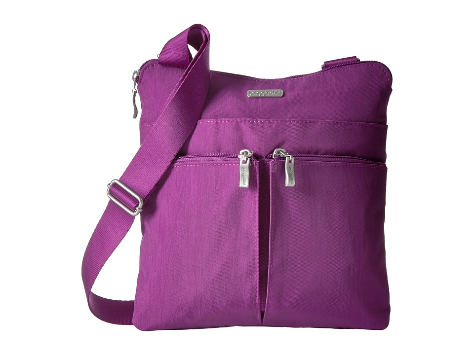 Baggallini - Horizon Crossbody (Magenta) Cross Body Handbags