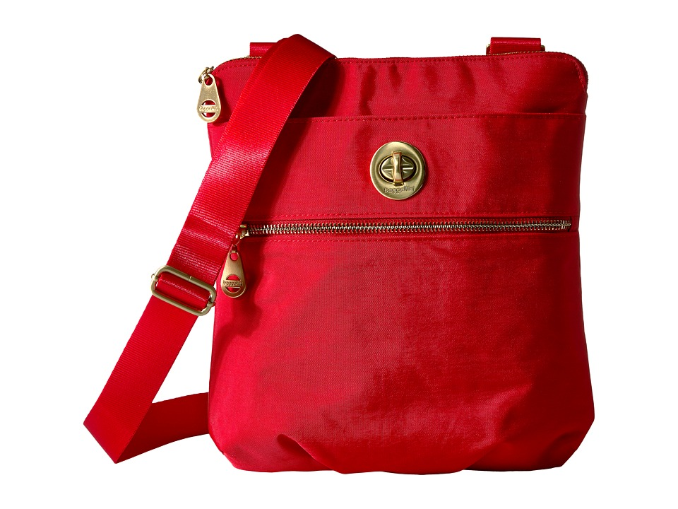 Baggallini - Hanover Crossbody (Poppy Red) Cross Body Handbags