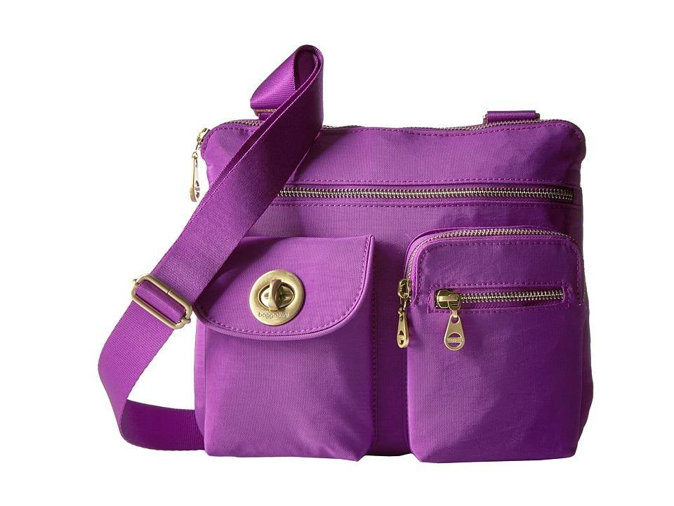 Baggallini - Gold Sydney (Magenta) Handbags