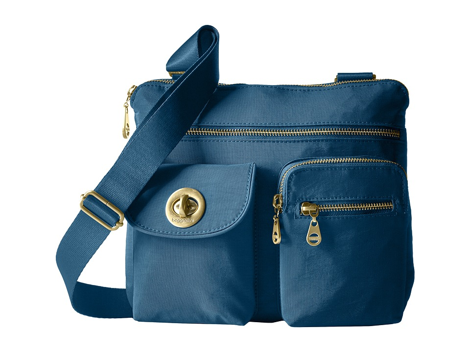 Baggallini - Gold Sydney (Slate Blue) Handbags