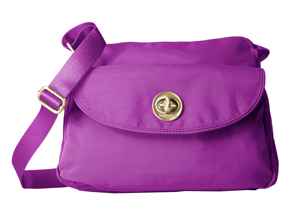 Baggallini - Provence Crossbody (Magenta) Cross Body Handbags