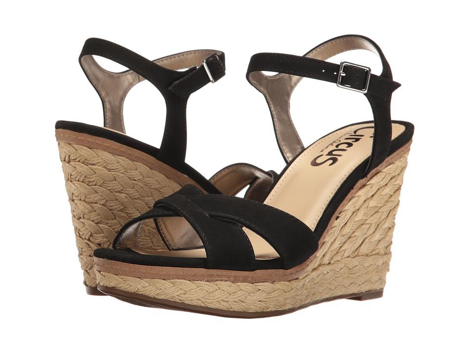 Circus by Sam Edelman - Erica (Black Sleek Suede) Women's Shoes