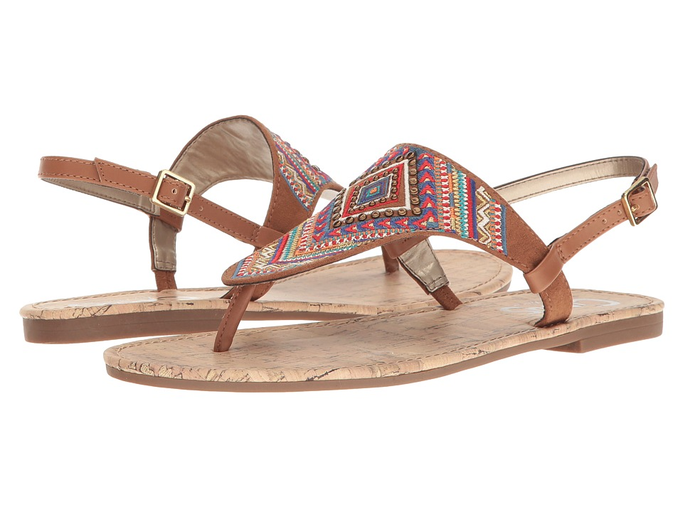 Circus by Sam Edelman - Brita (Saddle Smooth Atanado Veg/Microsuede) Women's Shoes