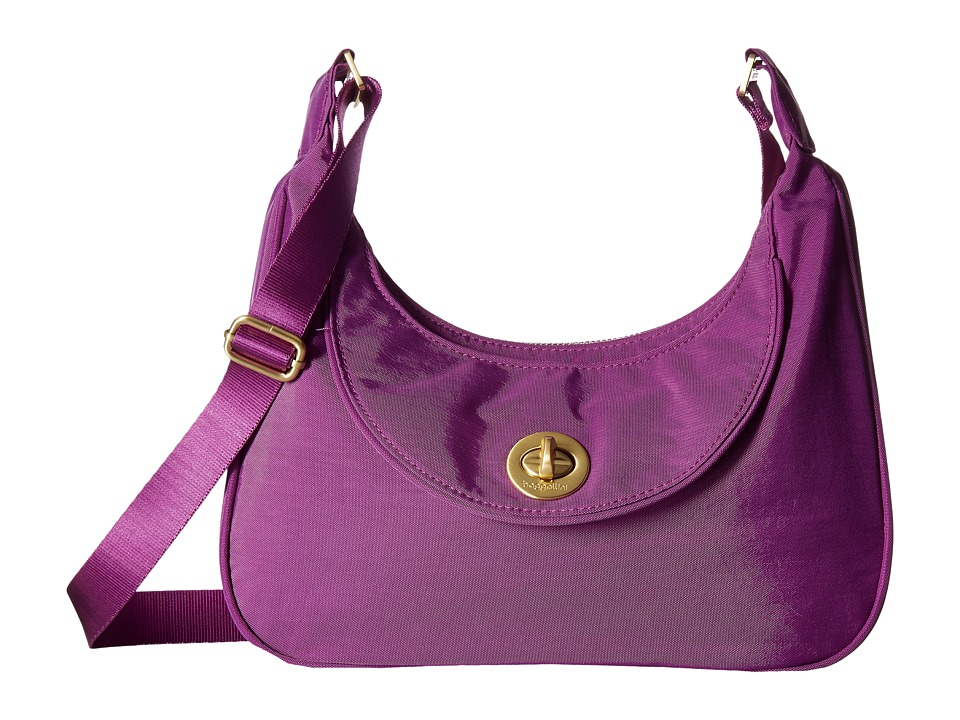 Baggallini - Oslo Small Hobo (Magenta) Handbags