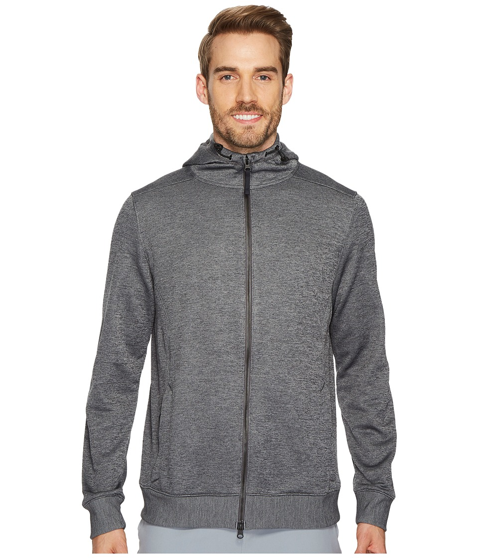 Under Armour Sportstyle Sweater Fleece Full Zip (Carbon Heather/Steel) Men