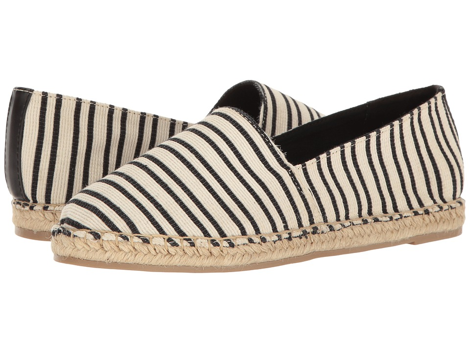 Circus by Sam Edelman Laila (Black/White Heavy Weave Striped Fabirc) Women