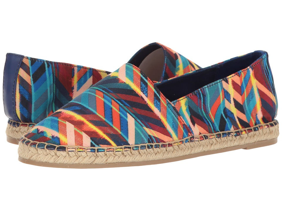 Circus by Sam Edelman Laila (Blue Multi Chevron Sripes Fabric) Women