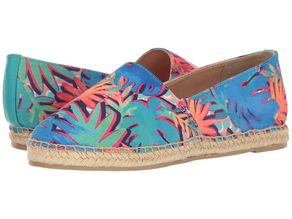 Circus by Sam Edelman - Laila (Blue Multi Palm Party Print) Women's Shoes