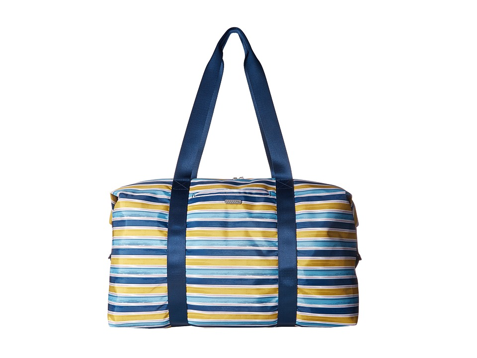 Baggallini - Large Travel Duffel (Tropical Stripe Multi) Duffel Bags