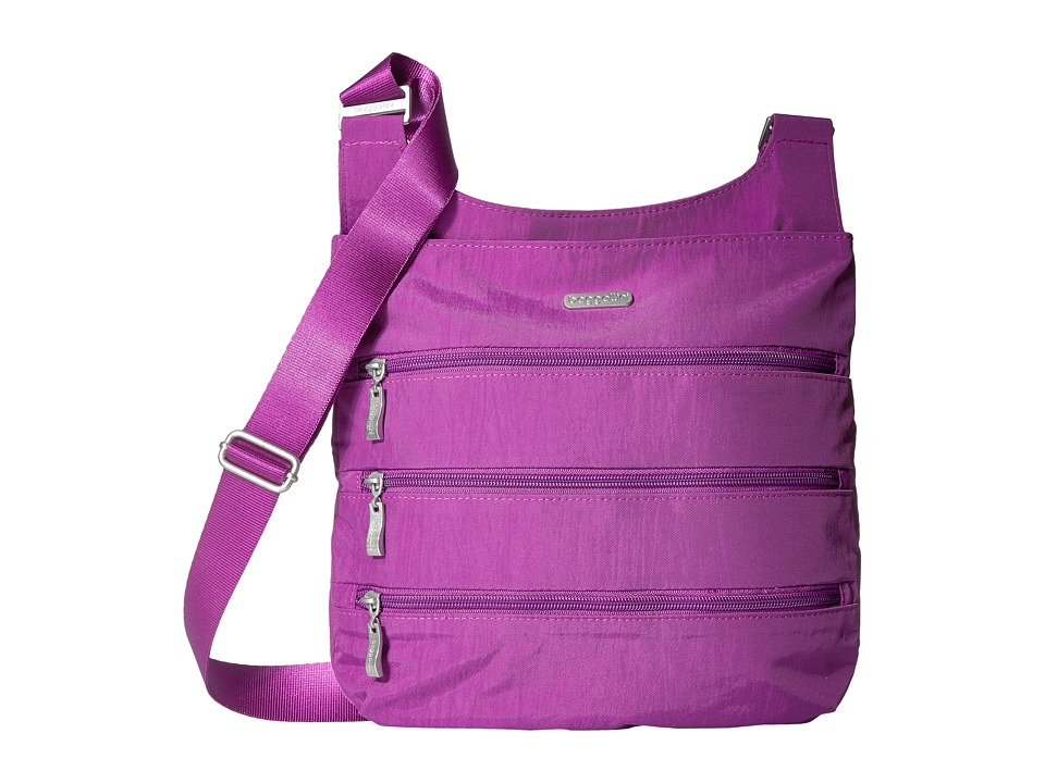 Baggallini - Big Zipper Bagg (Magenta) Cross Body Handbags