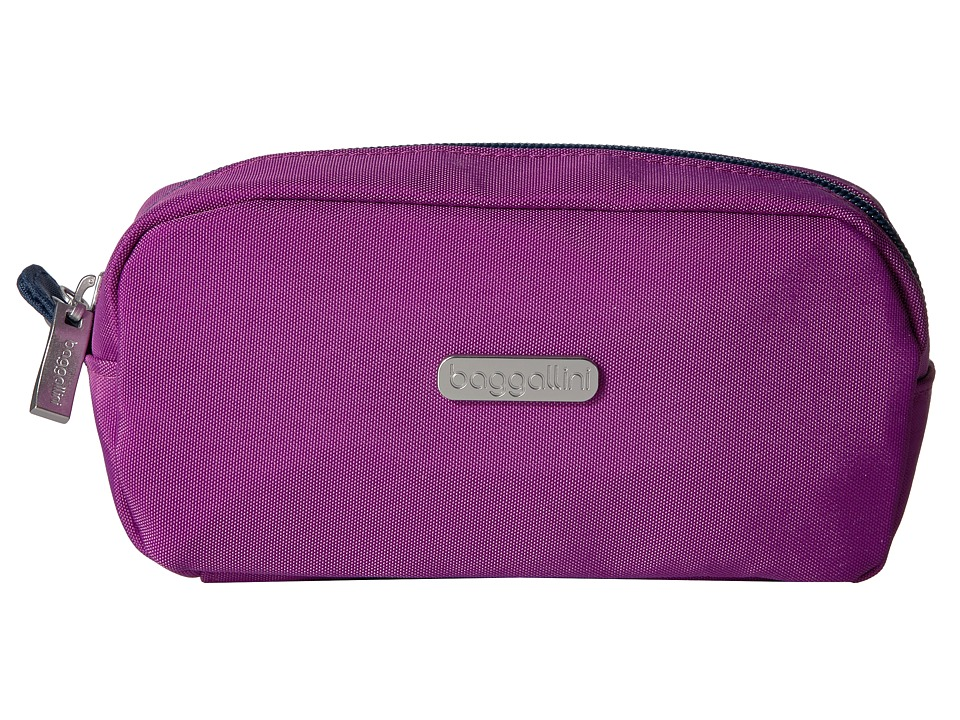 Baggallini - Square Cosmetic Case (Magenta/Pacific) Cosmetic Case