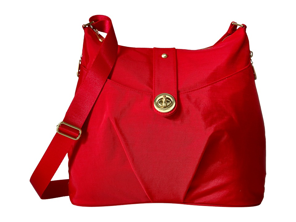 Baggallini - Helsinki Bagg (Poppy Red) Cross Body Handbags
