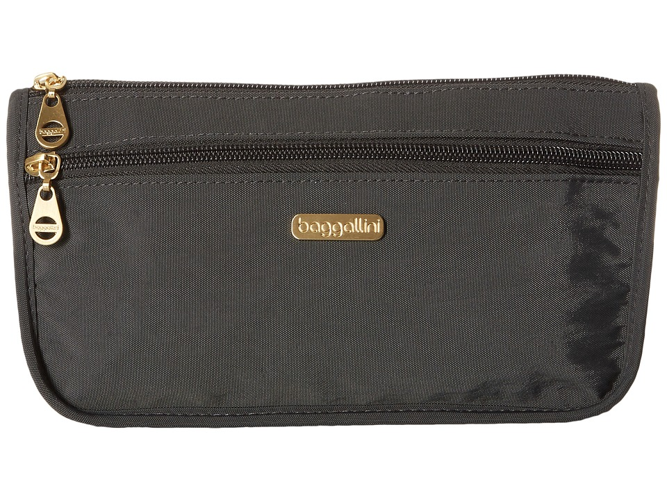 Baggallini Fiji Large Wedge Case (Charcoal) Cosmetic Case