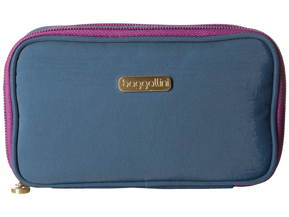 Baggallini Vienna Case (Slate Blue) Cosmetic Case