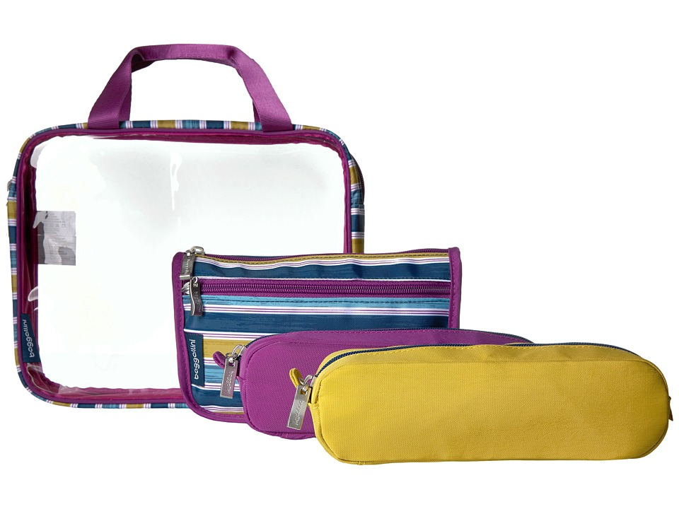 Baggallini - Travel Trio (Tropical Stripe) Bags