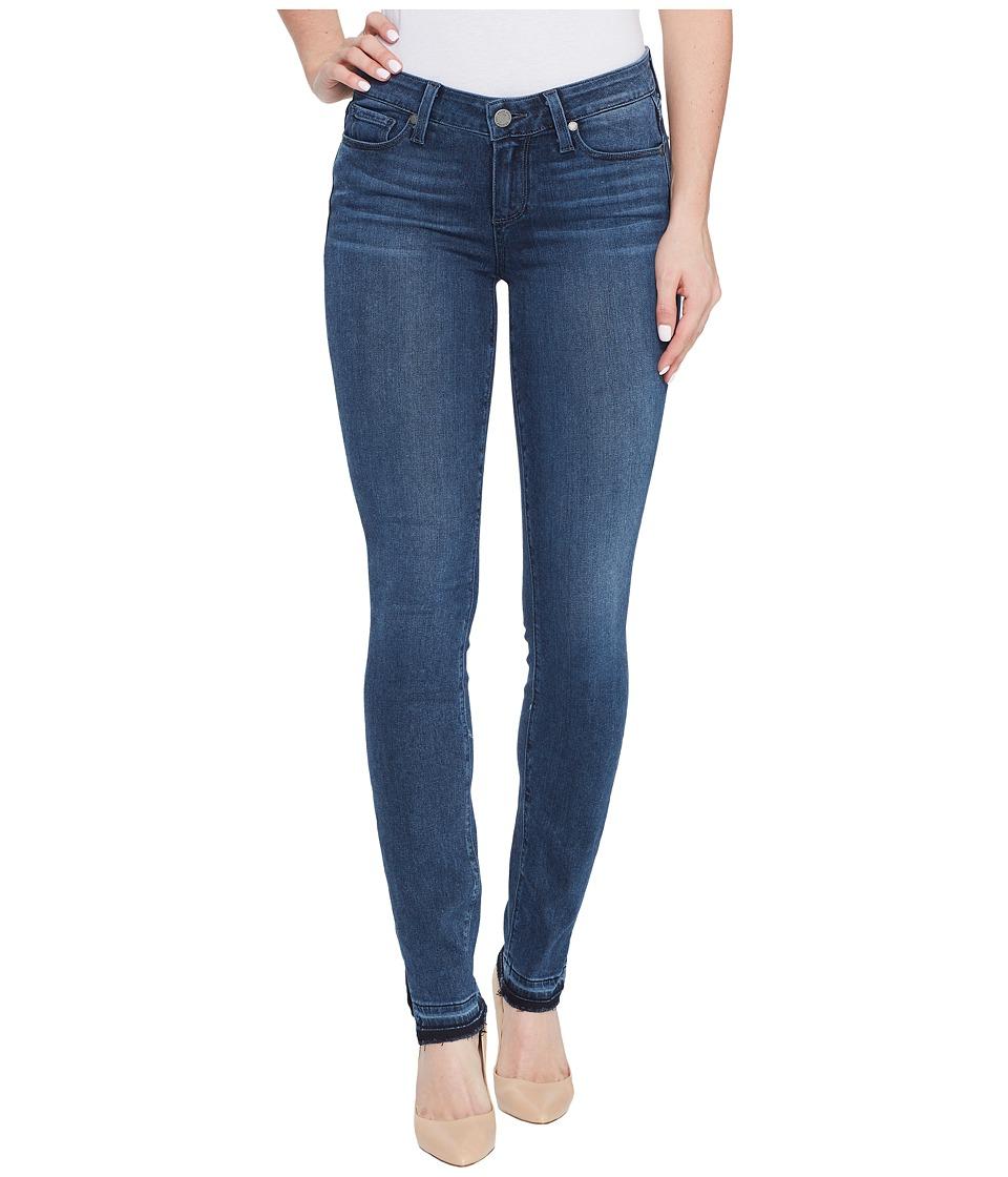 Paige - Verdugo Ultra Skinny w/ Undone Hem + Outseam Slit in Davis (Davis) Women's Jeans