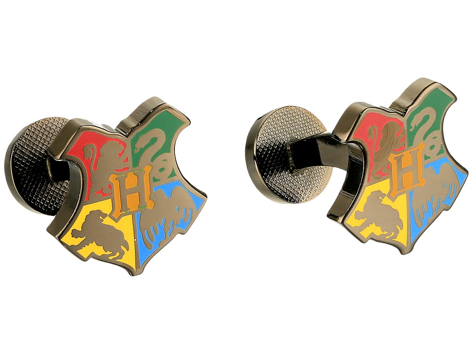 Cufflinks Inc. - Hogwarts Shield Cufflinks (Multi) Cuff Links