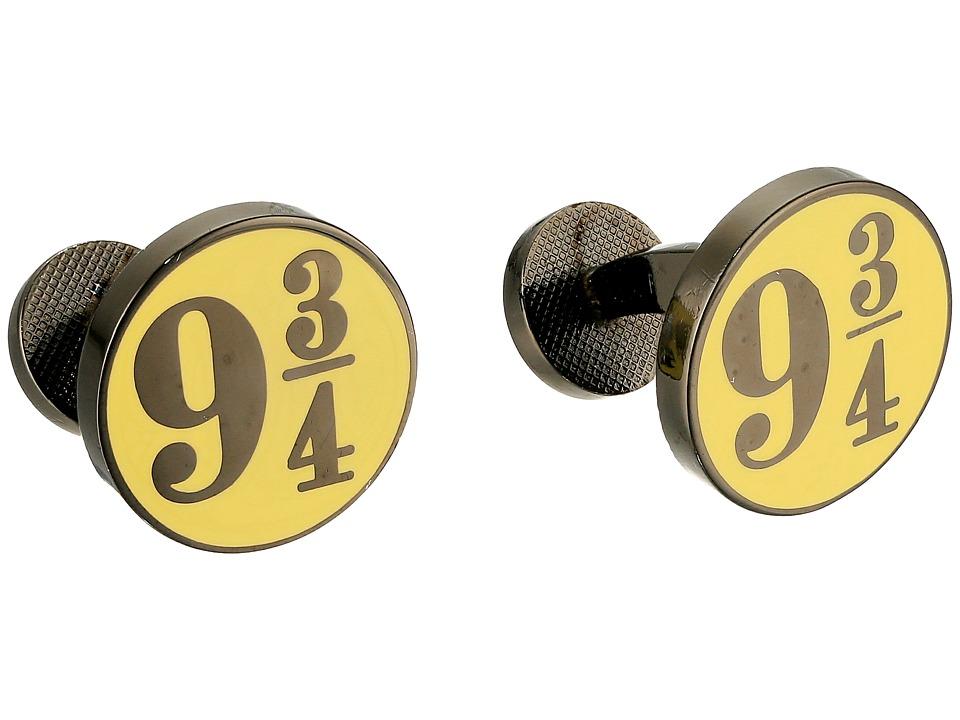 Cufflinks Inc. - Platform 9 3/4 Cufflinks (Black) Cuff Links