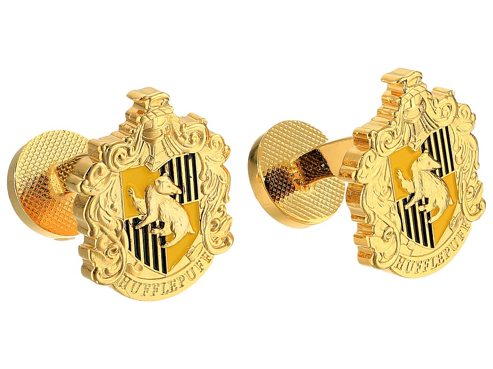 Cufflinks Inc. - Hufflepuff Crest Cufflinks (Gold) Cuff Links