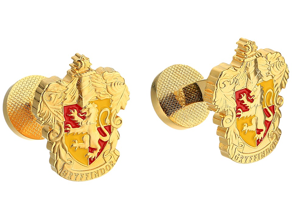 Cufflinks Inc. - Gryffindor Crest Cufflinks (Gold) Cuff Links