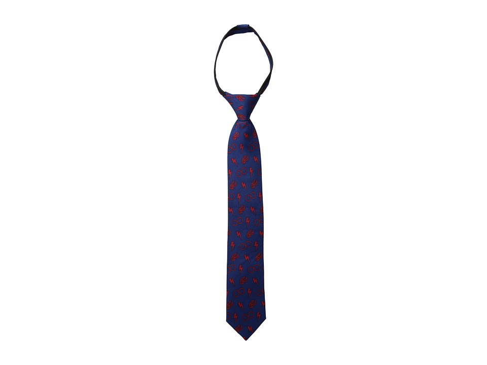 Cufflinks Inc. - Harry Potter Boys' Zipper Tie (Navy) Ties